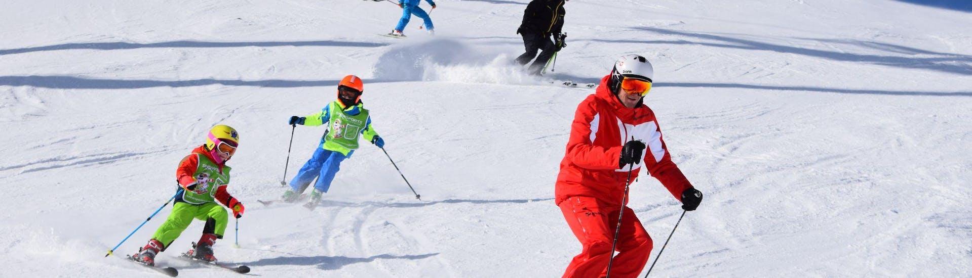 Cours particulier de ski pour Enfants dès 5 ans pour Tous niveaux