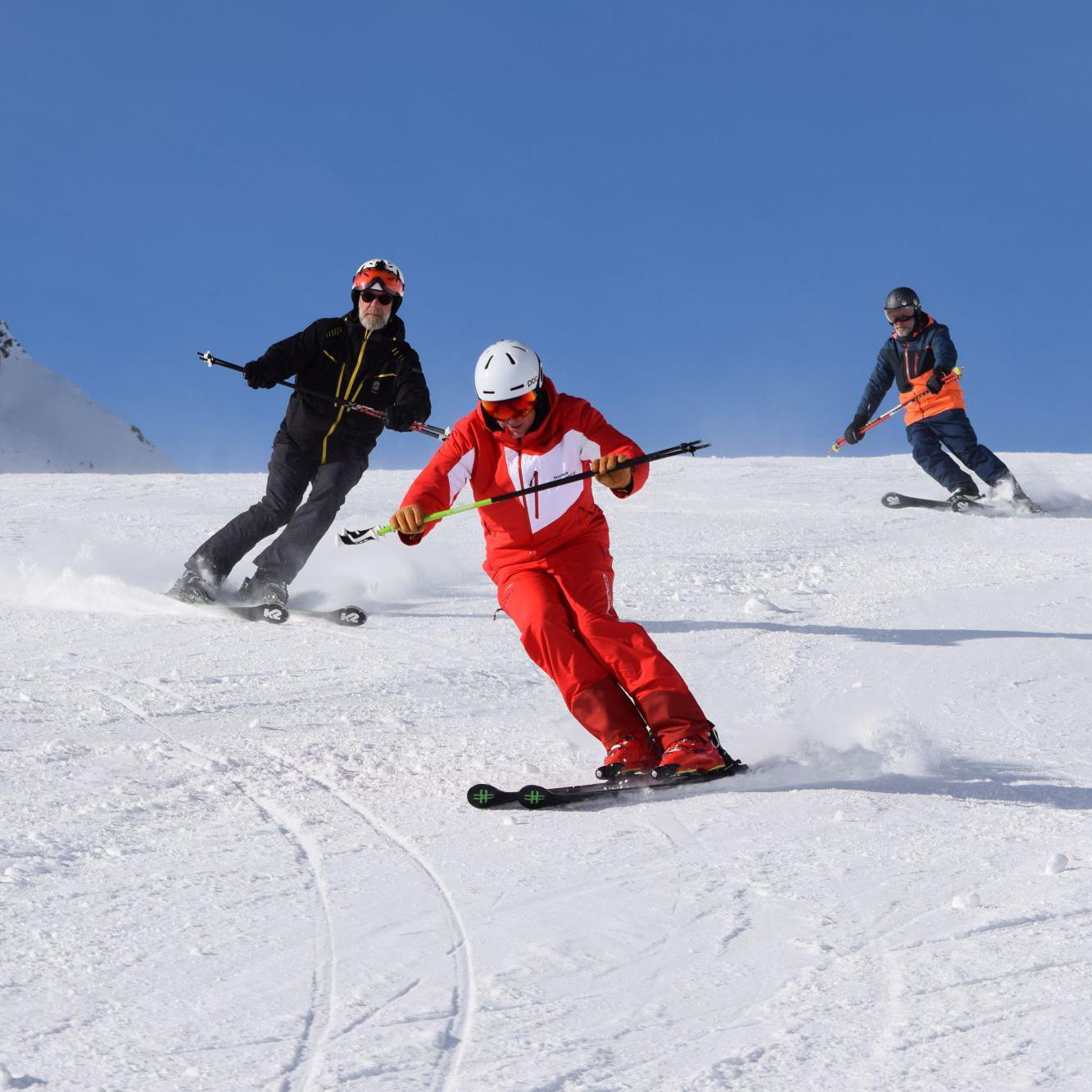 Privélessen skiën voor volwassenen van alle niveaus