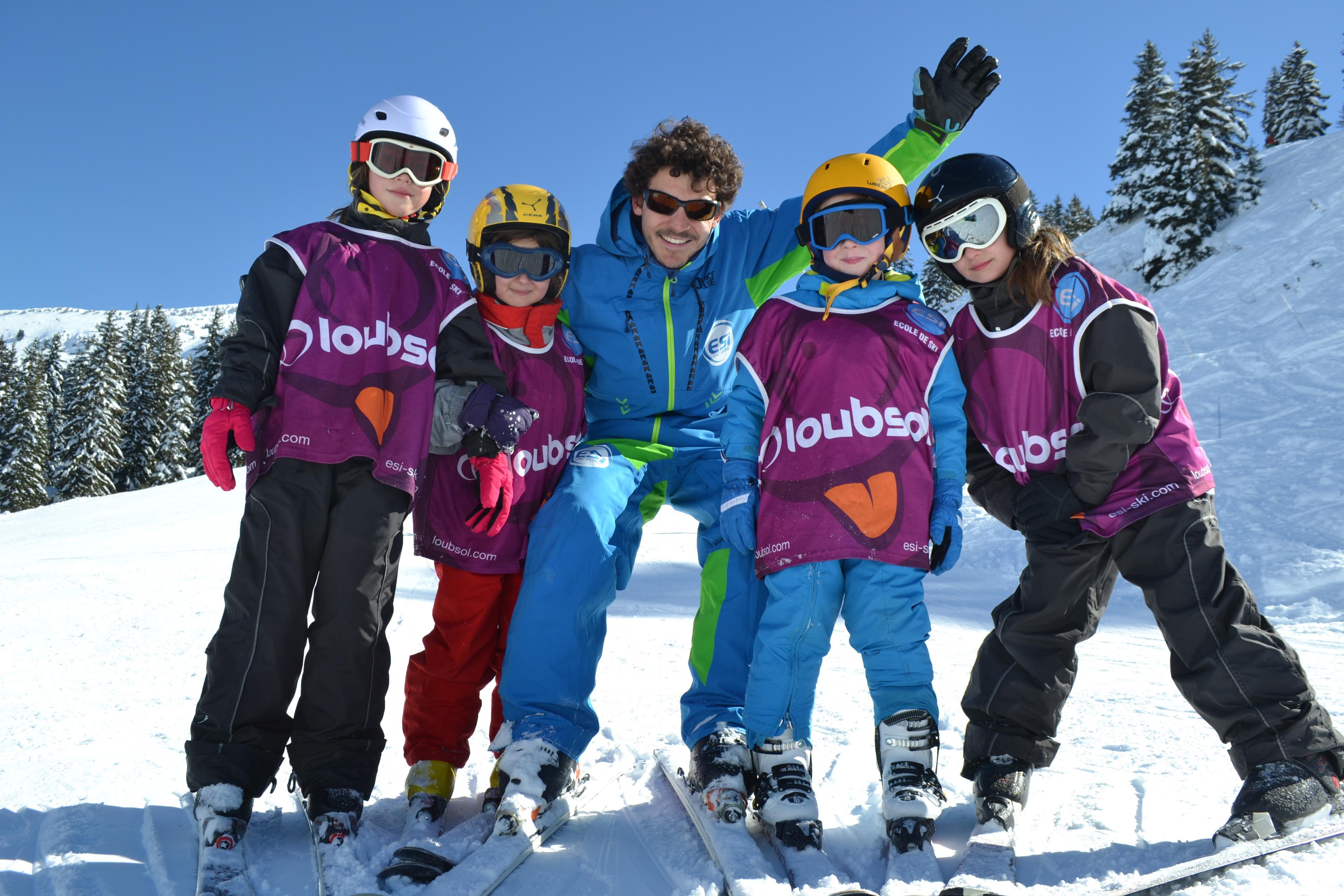 Cours de ski Enfants (6-12 ans) - Basse saison