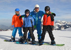 Snowboarding Lessons (from 10 years) - All Levels