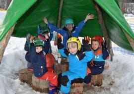 """Skilessen """"Bambini"""" voor kinderen (3-5 jaar) Beginners met Skischule Aktiv Wildschönau"""