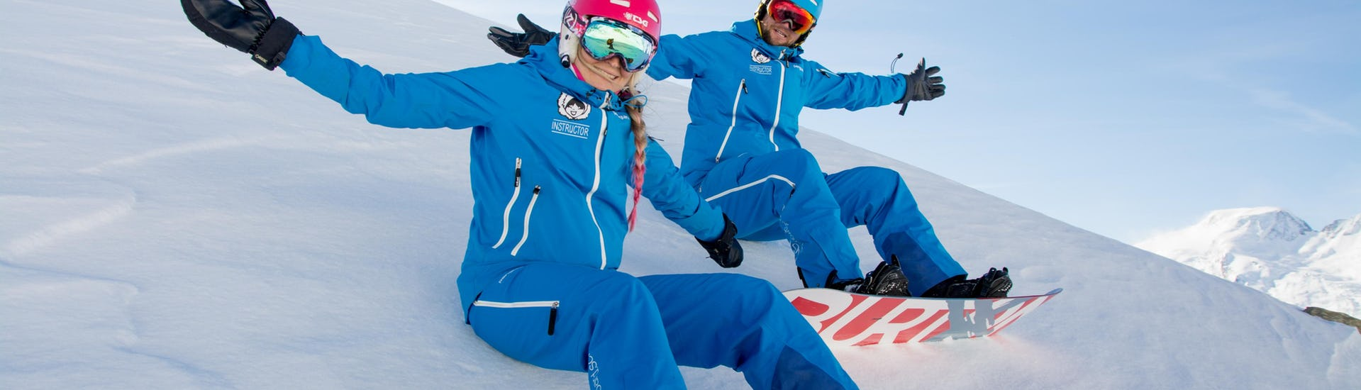 Snowboard Instructor Private for Adults & Kids - All Levels