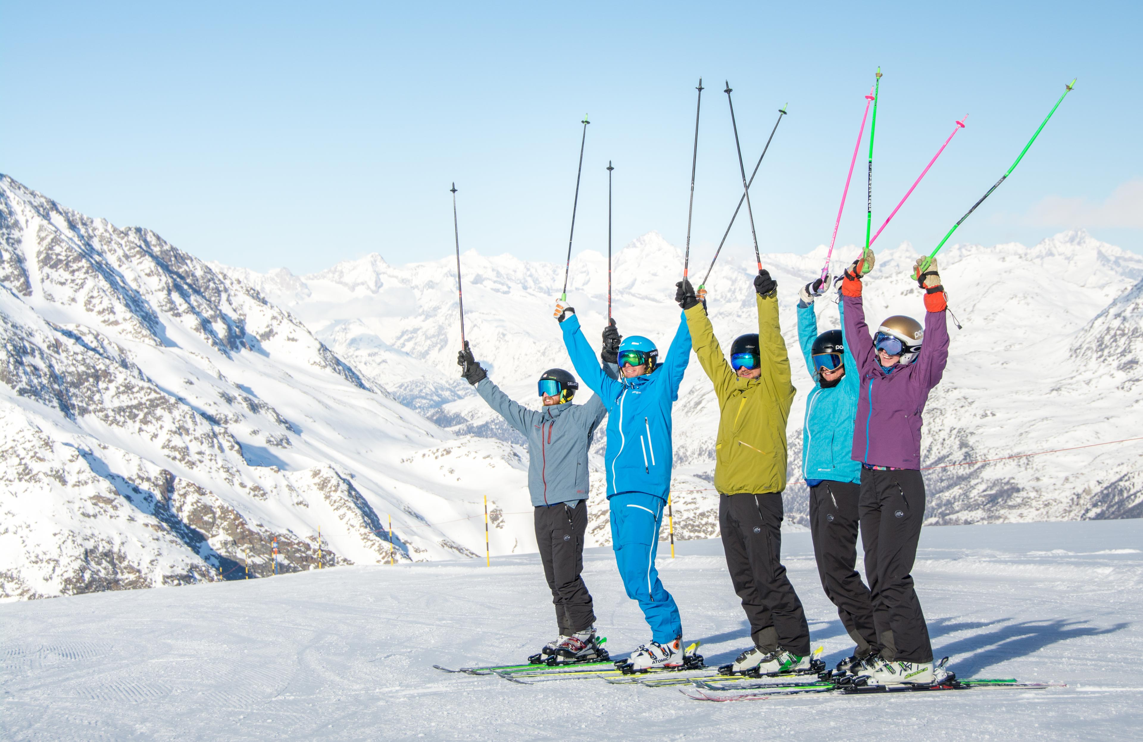 Lezioni di sci per adulti principianti assoluti