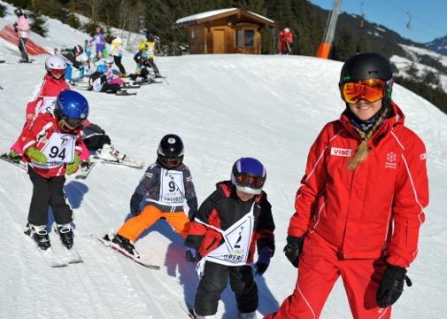 Cours de ski Enfants dès 3 ans - Avancé
