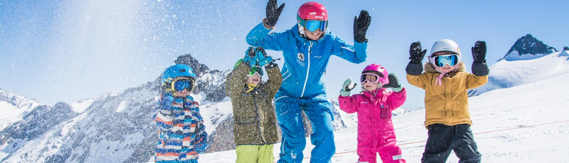 Ski Discovery Lessons for Kids (from 4 years) - Beginners