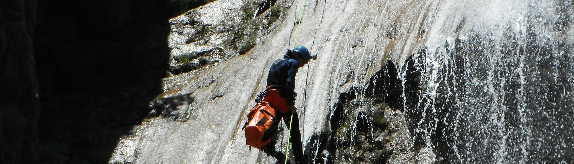 Canyoning in the Nissod for Experts