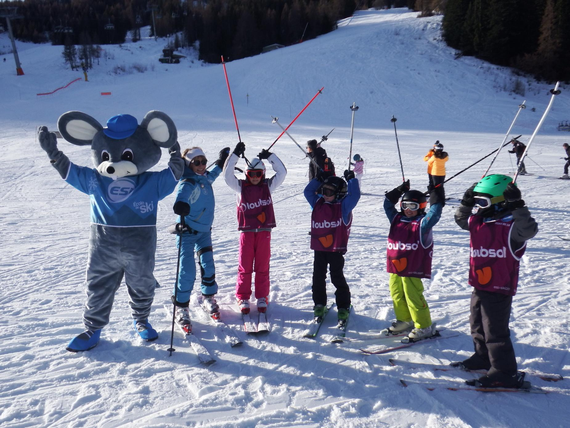 Cours de ski Enfants (5-12 ans) pour Tous niveaux - Matin