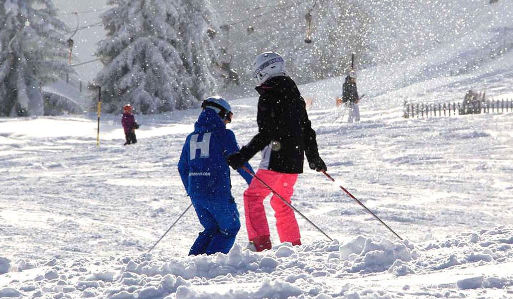 kleine groep skilessen kinderen (vanaf 6 jaar) - Beginner