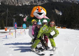 Kids Ski Lessons (3-16 y.)  for All Levels - Half-Day