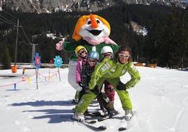 Skilessen voor kinderen vanaf 3 jaar voor alle niveaus met 1. Skischule Club Alpin Grän