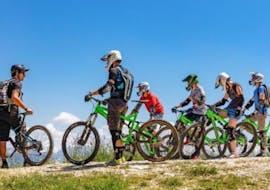 E-Mountain Bike Tour in Semnoz