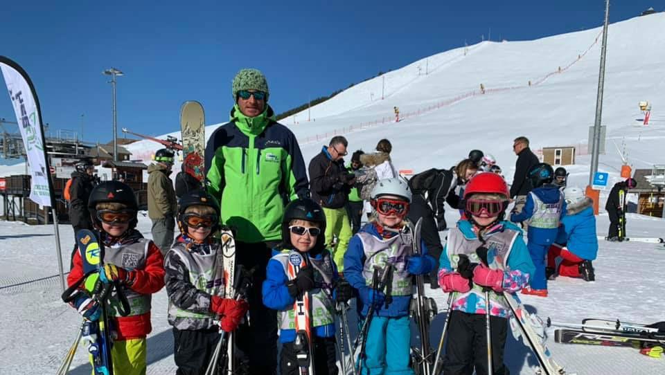 Cours de ski pour Enfants (4-13 ans) - Vacances - Matin
