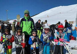 Kids Ski Lessons (4-12 years) - Holiday - Morning