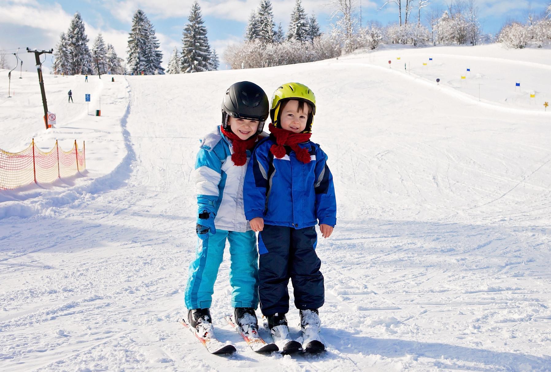 Skilessen voor kinderen - licht gevorderd