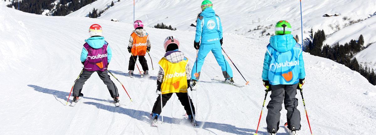 Cours de Ski Enfants (5-15 ans) - Les Carroz - Après-midi