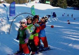 Cours de ski Enfants (3-4 a.) - Vacances - A.-midi - Arc1800