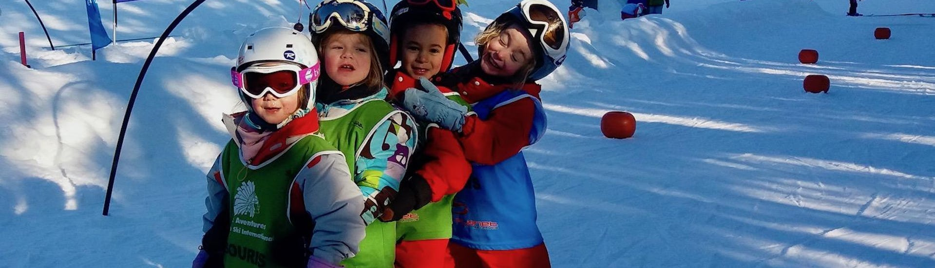 Kids Ski Lessons (3-4 years) - Holiday - Afternoon - Arc1800
