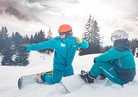 Cours particulier de snowboard pour Débutants