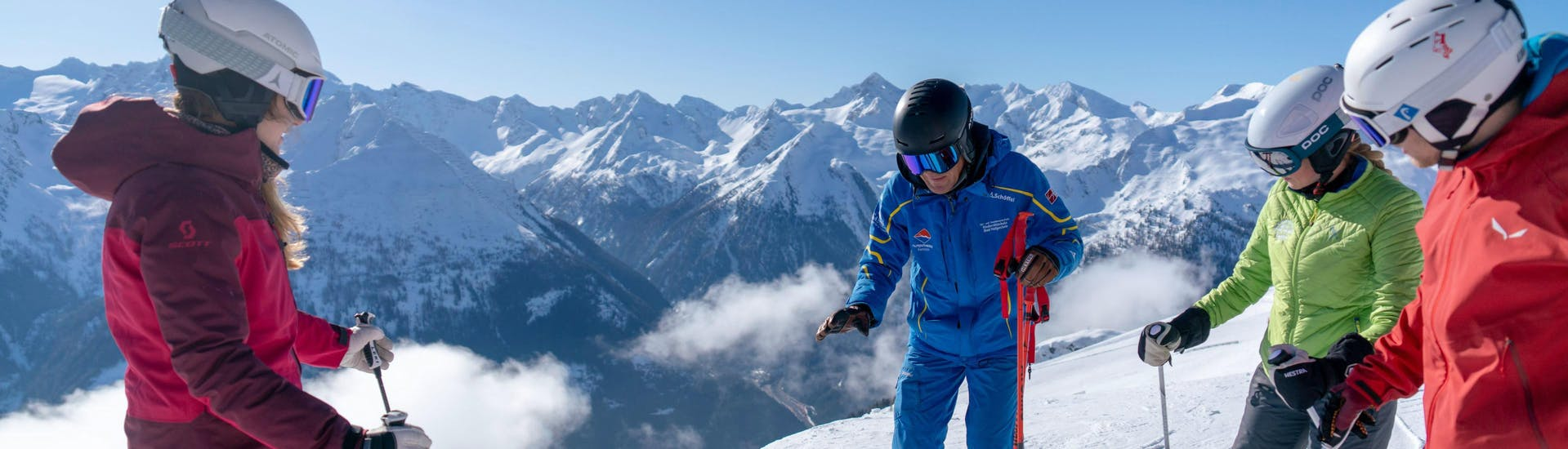 Teens Ski Lessons (12-17 y.) for Advanced Skiers