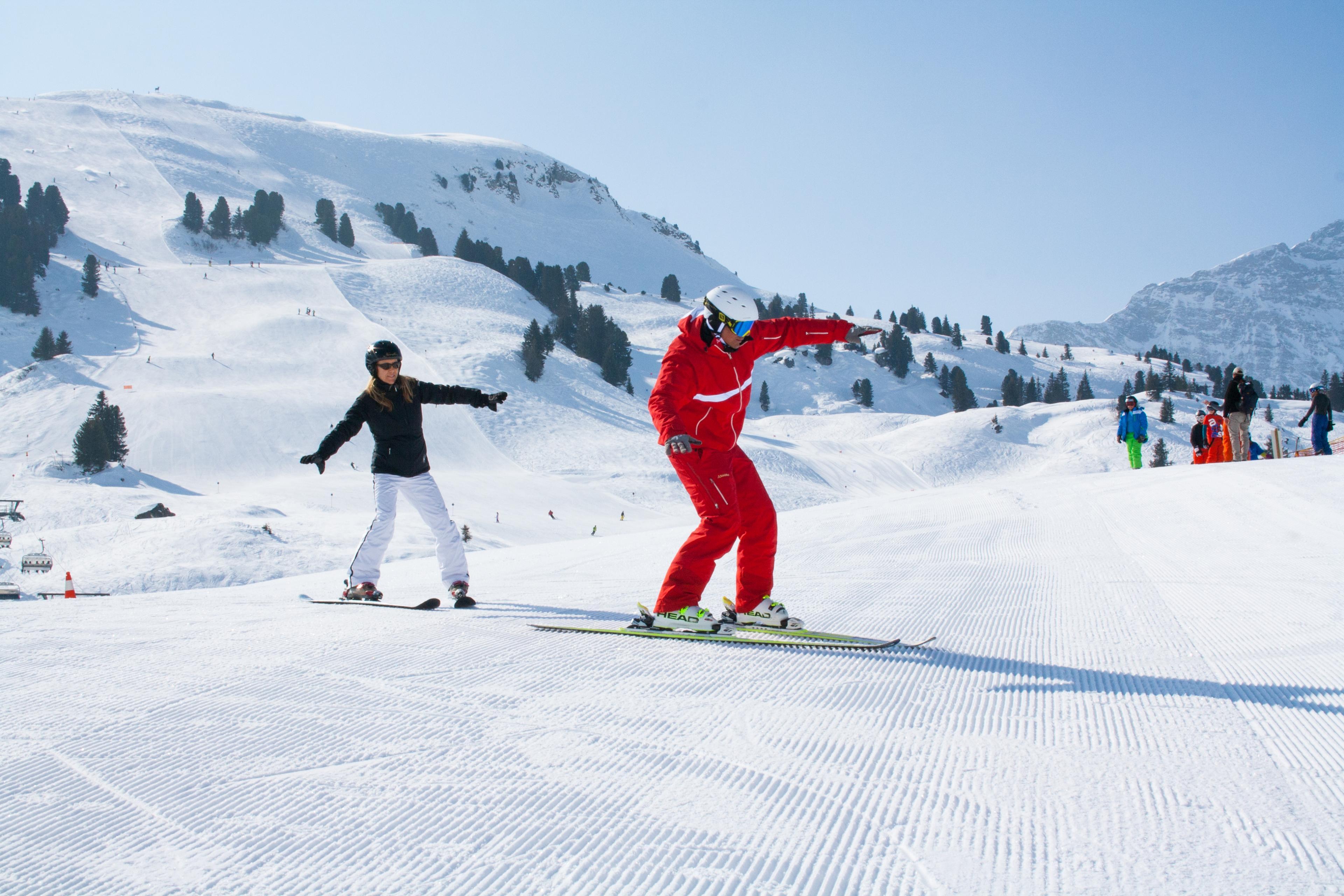Groepslessen skiën voor volwassenen - Beginners