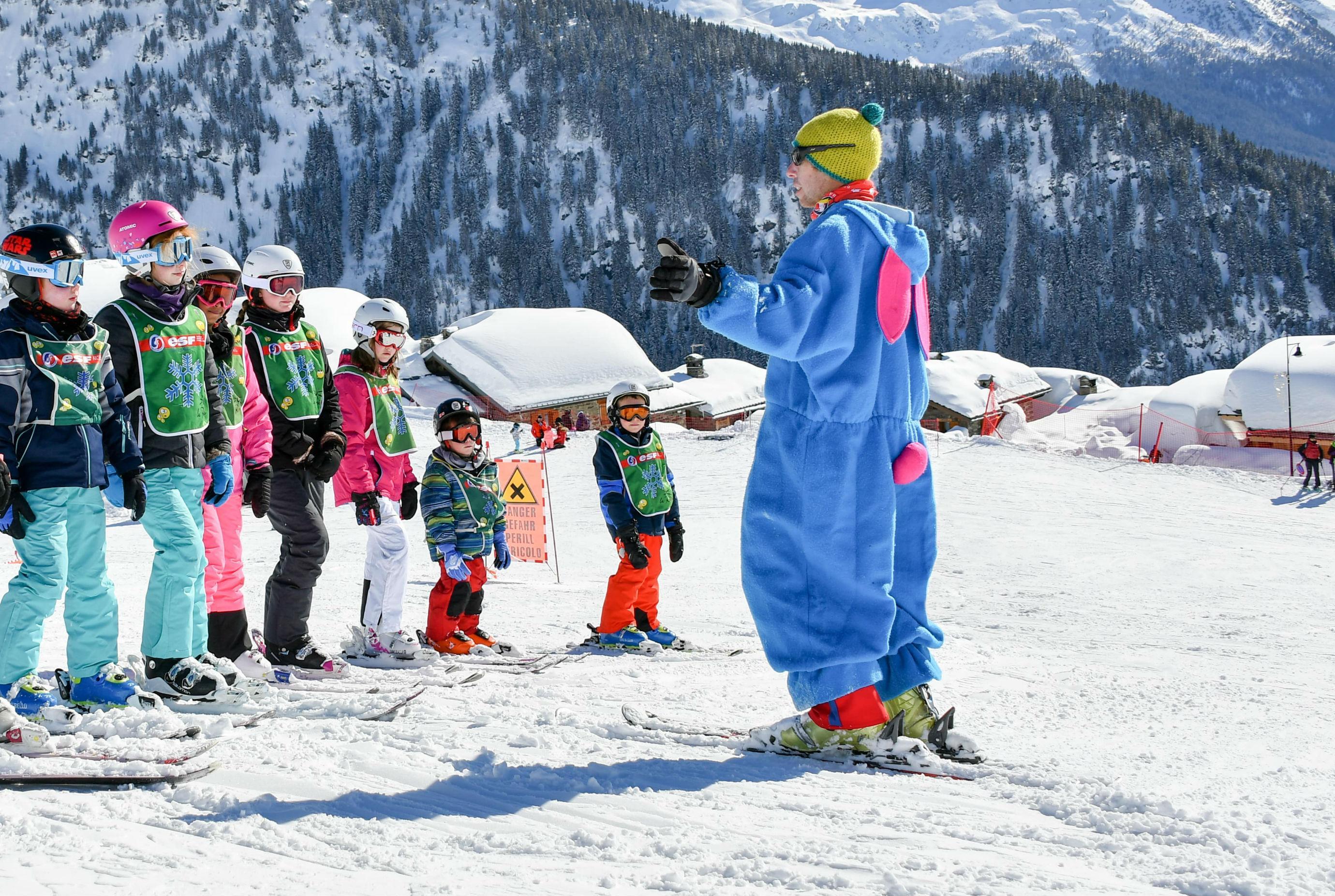 Cours de ski pour Enfants (5-13 ans) - Avec garderie
