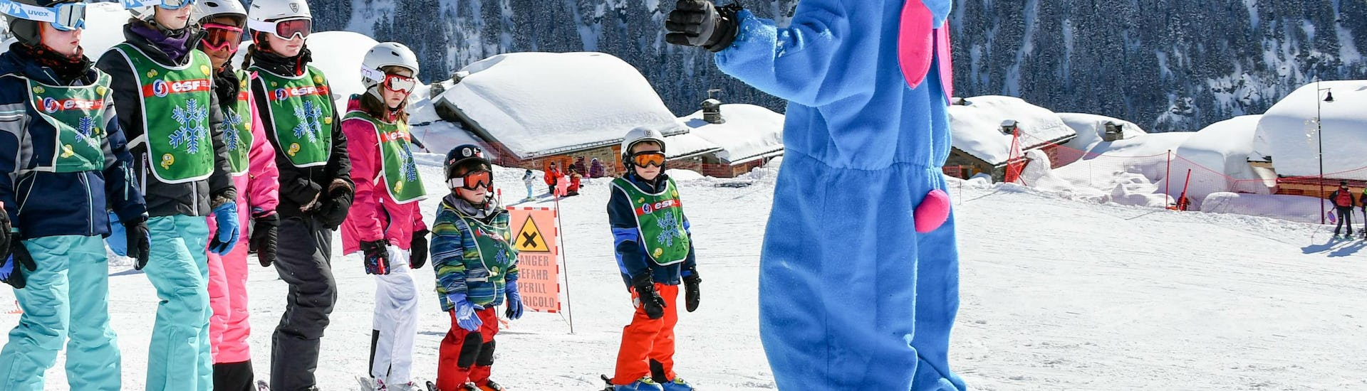 Kids Ski Lessons (5-13 years) - With Daycare