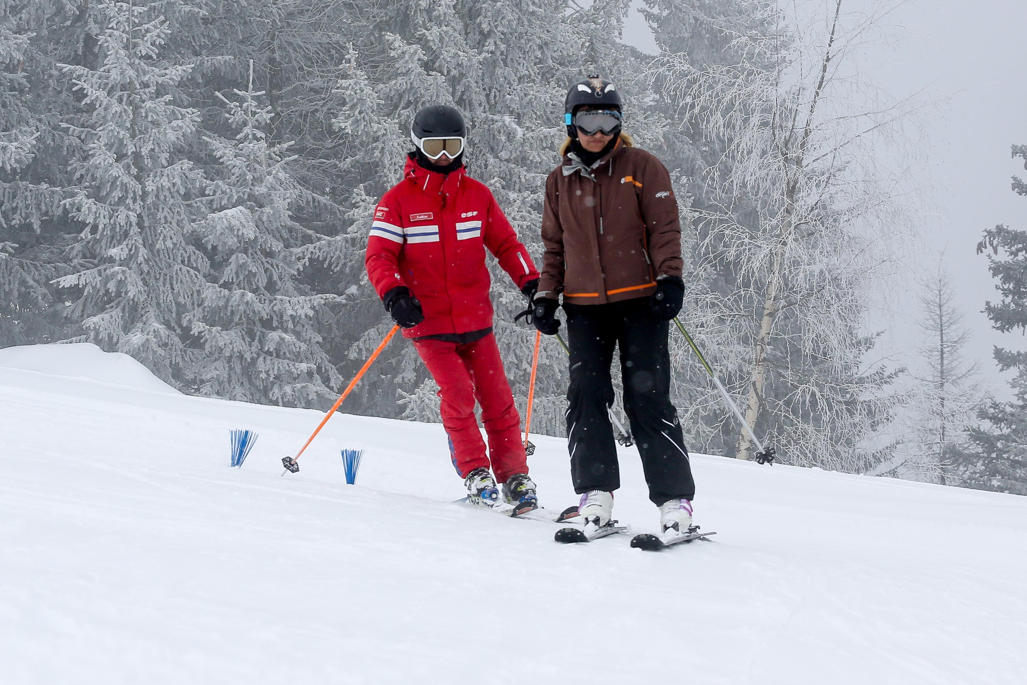 Cours de ski pour Adultes - Haute saison - Après-midi