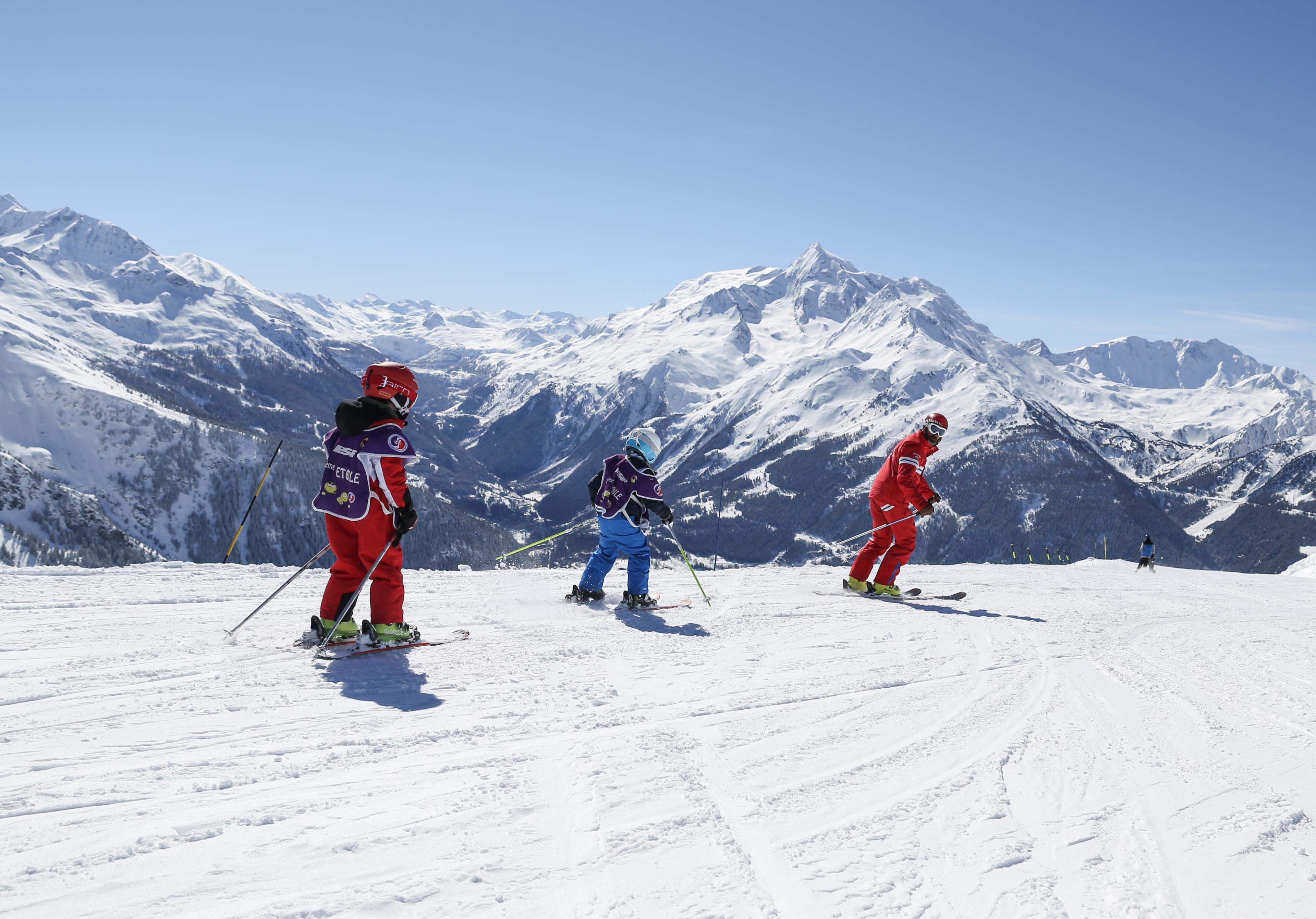 Cours de ski Enfants (3-13 ans) - Haute saison - Après-midi