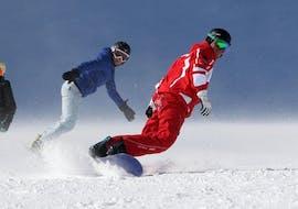 Snowboardlessen vanaf 8 jaar voor alle niveaus met ESF Les Orres