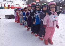 "Kids Ski Lessons ""Piou Piou"" (3-5 years) - Low Season"