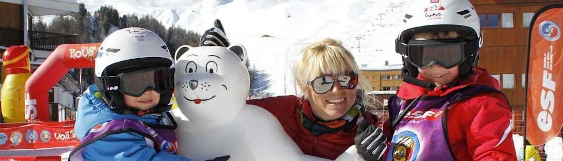 "Ski-Trial Lesson ""Piou Piou"" (3-4 years) - High Season"