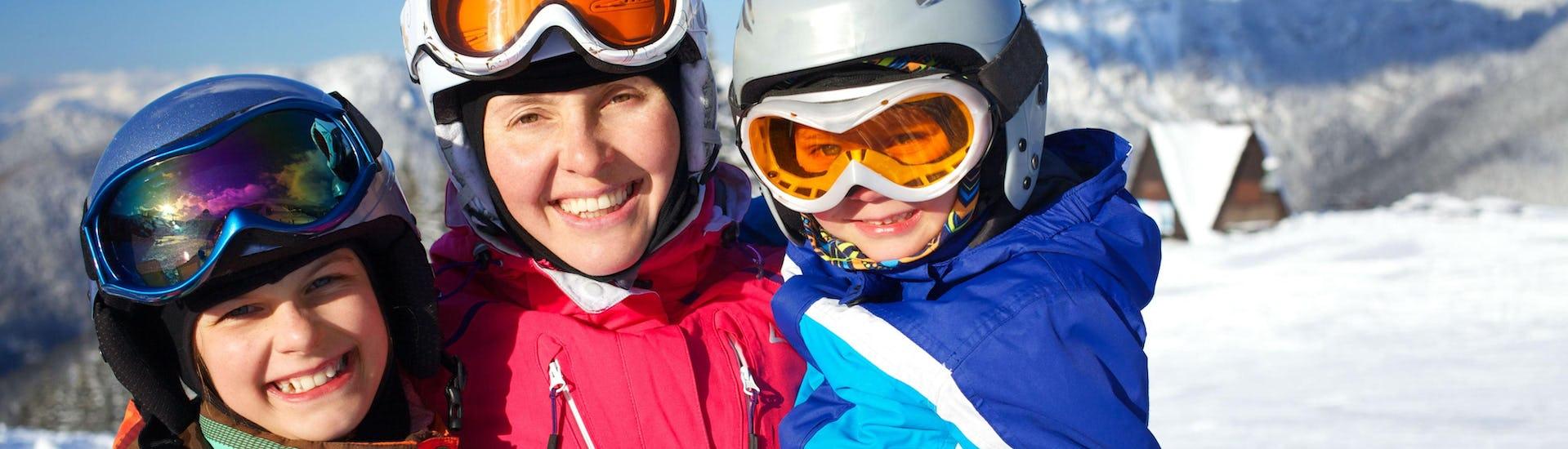 """Ski Lessons """"Piou-Piou"""" (3-6 years) - Low Season"""