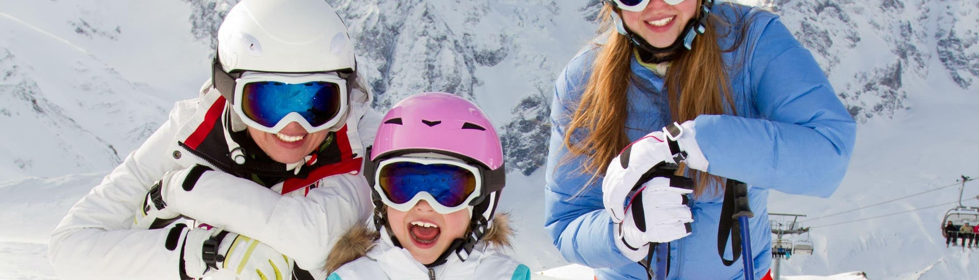 Ski Lessons (6-12 years) - Low Season - All Levels