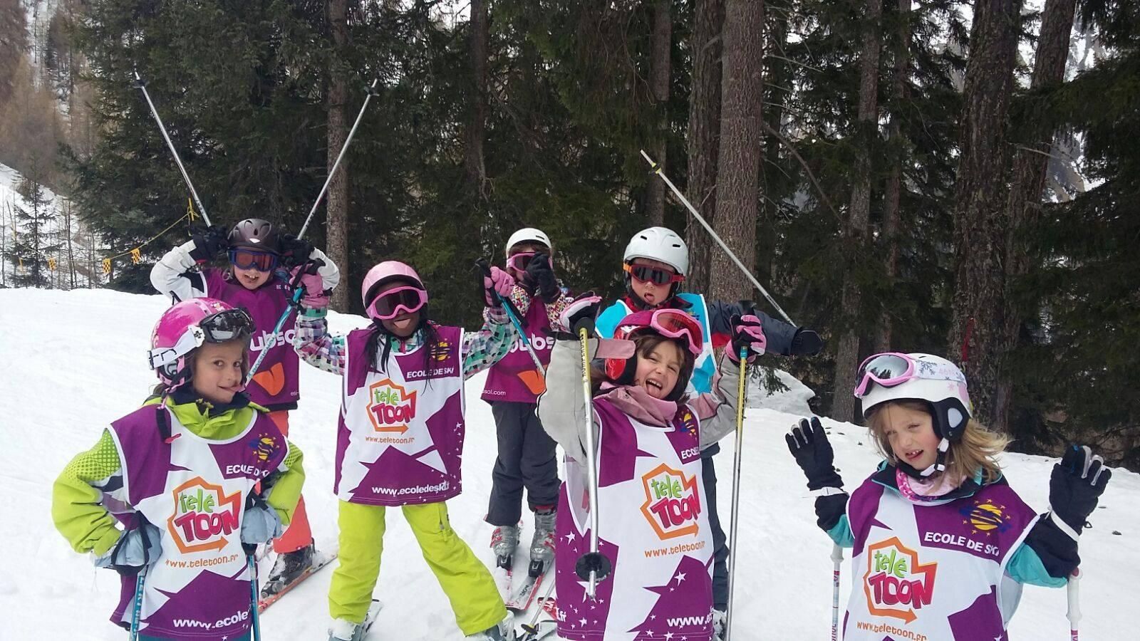Cours de ski Enfants (5-17 ans) pour Débutants