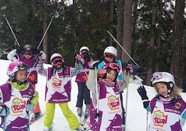 Skilessen voor kinderen vanaf 5 jaar - licht gevorderd met ESI Number One Ovronnaz