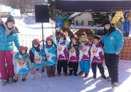 Skilessen voor kinderen vanaf 3 jaar - beginners met ESI Number One Ovronnaz