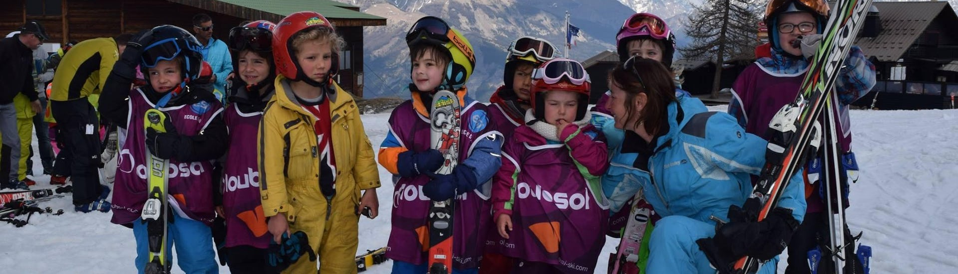 Ski Lessons for Kids (5-12 y.) - Afternoon - 23-28 February