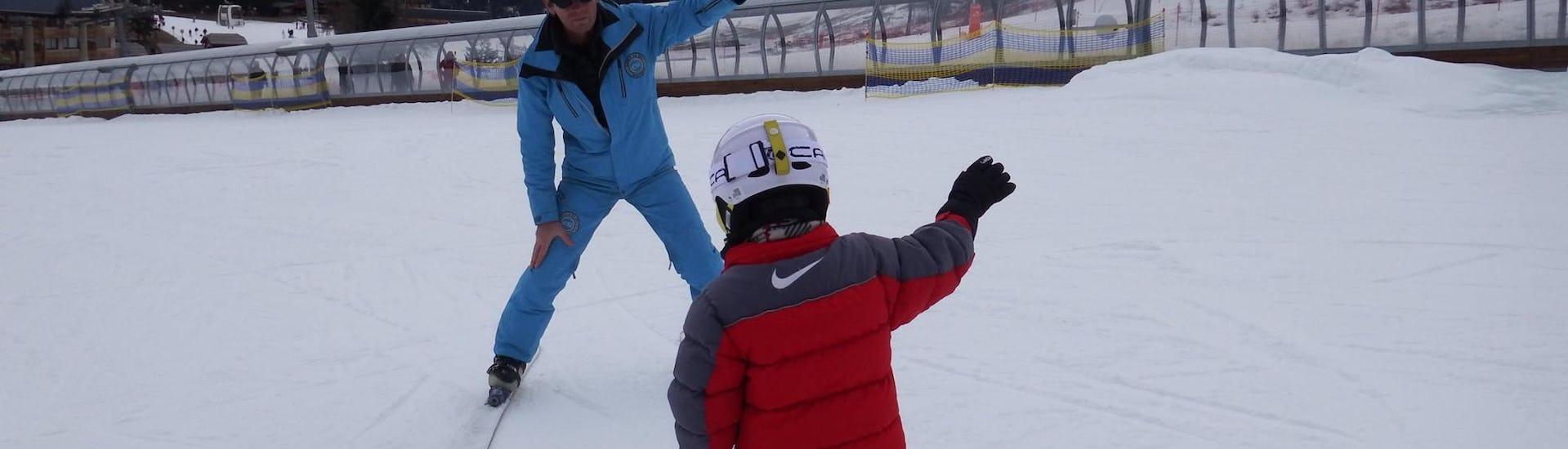 Moniteur de Ski Privé pour Enfants (3-4 ans) - Tous Niveaux