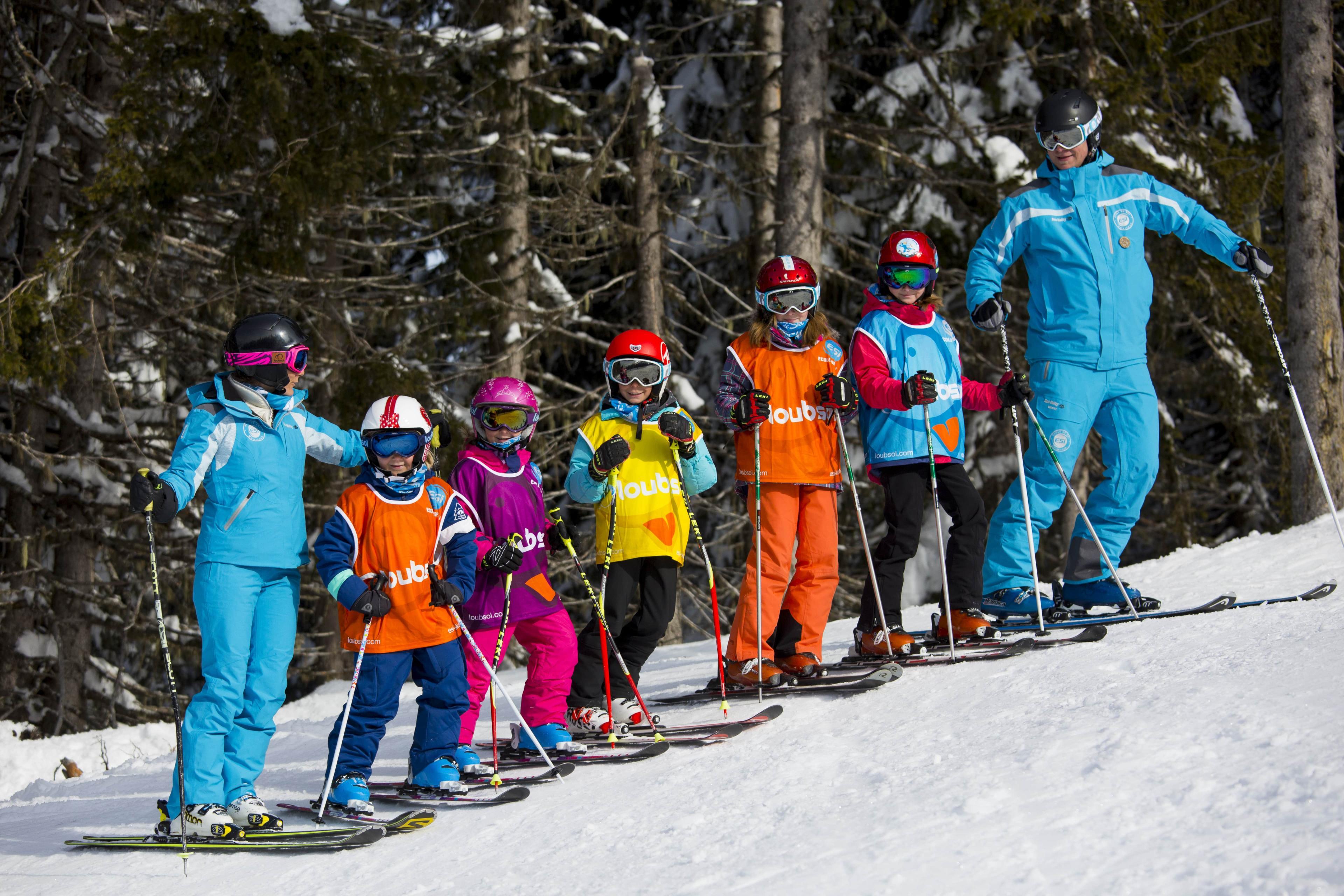 Cours de ski pour Enfants (6-17 ans) - Basse saison