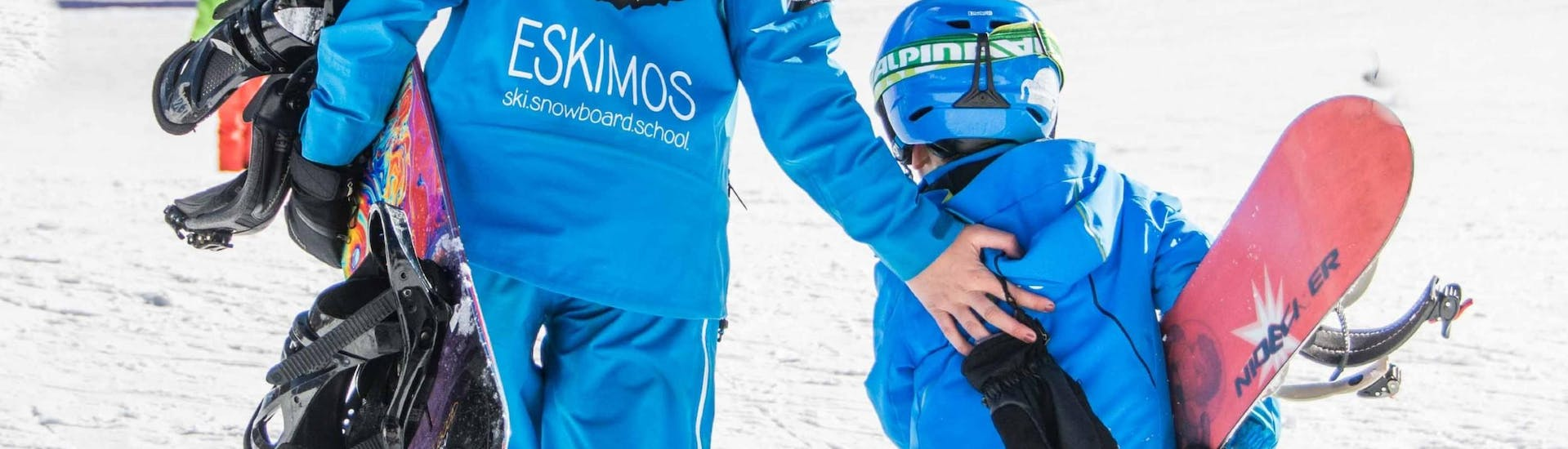 Trial Snowboarding Lessons for Kids (from 7 y.)