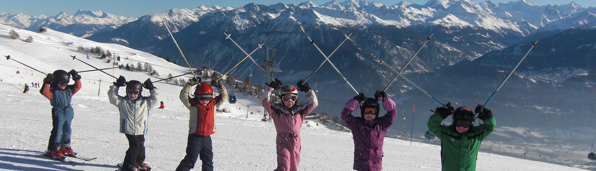 "Ski Lessons ""Mini Club"" (7-11 years) - Advanced"