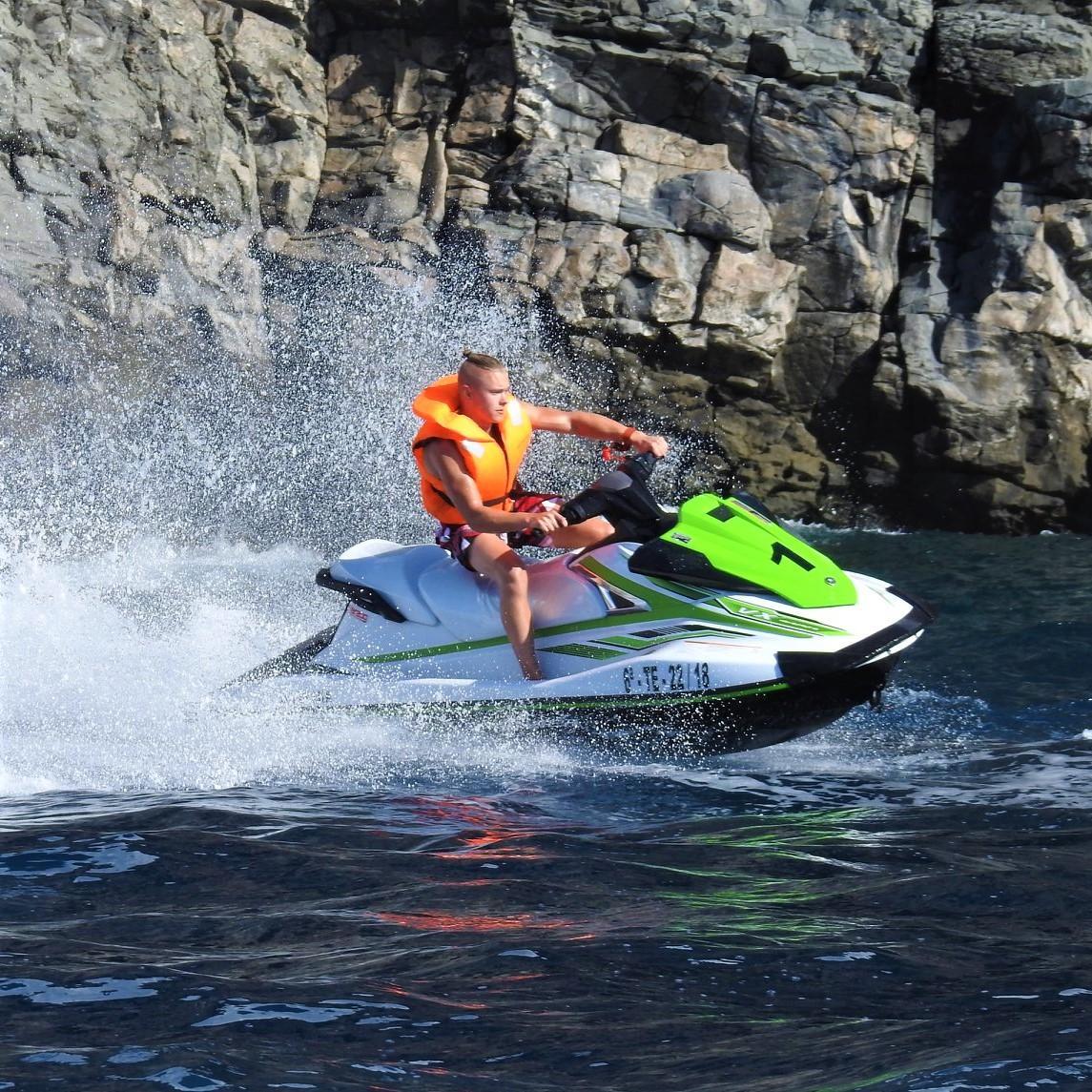 Jet Ski Safari from Costa Adeje