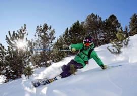 Cours particulier de ski pour Adultes - Vacances de Noël