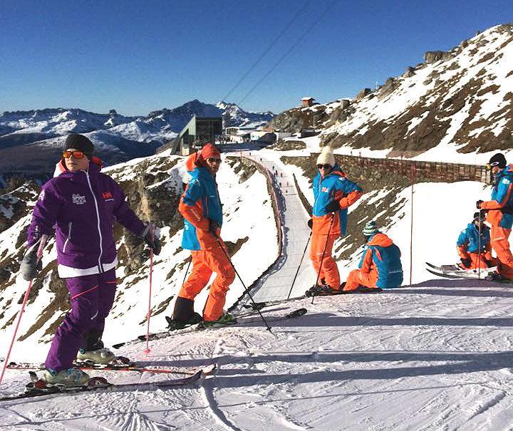 Skilessen voor volwassenen voor alle niveaus