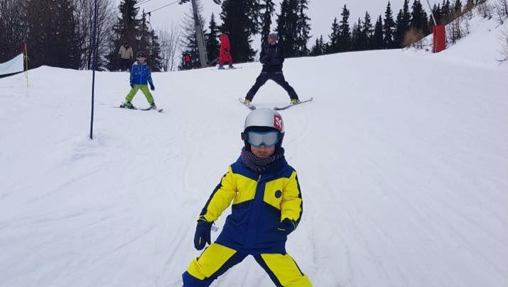 Cours de ski pour Enfants (3-5 ans) - Haute saison
