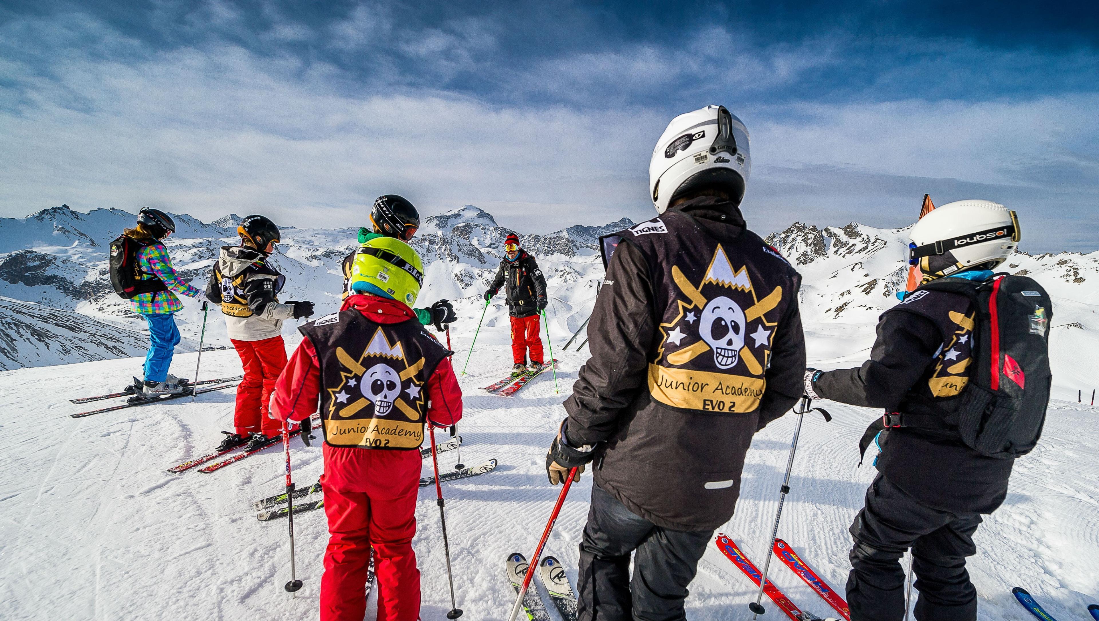Cours de ski pour Ados (13-17 ans) - Haute saison