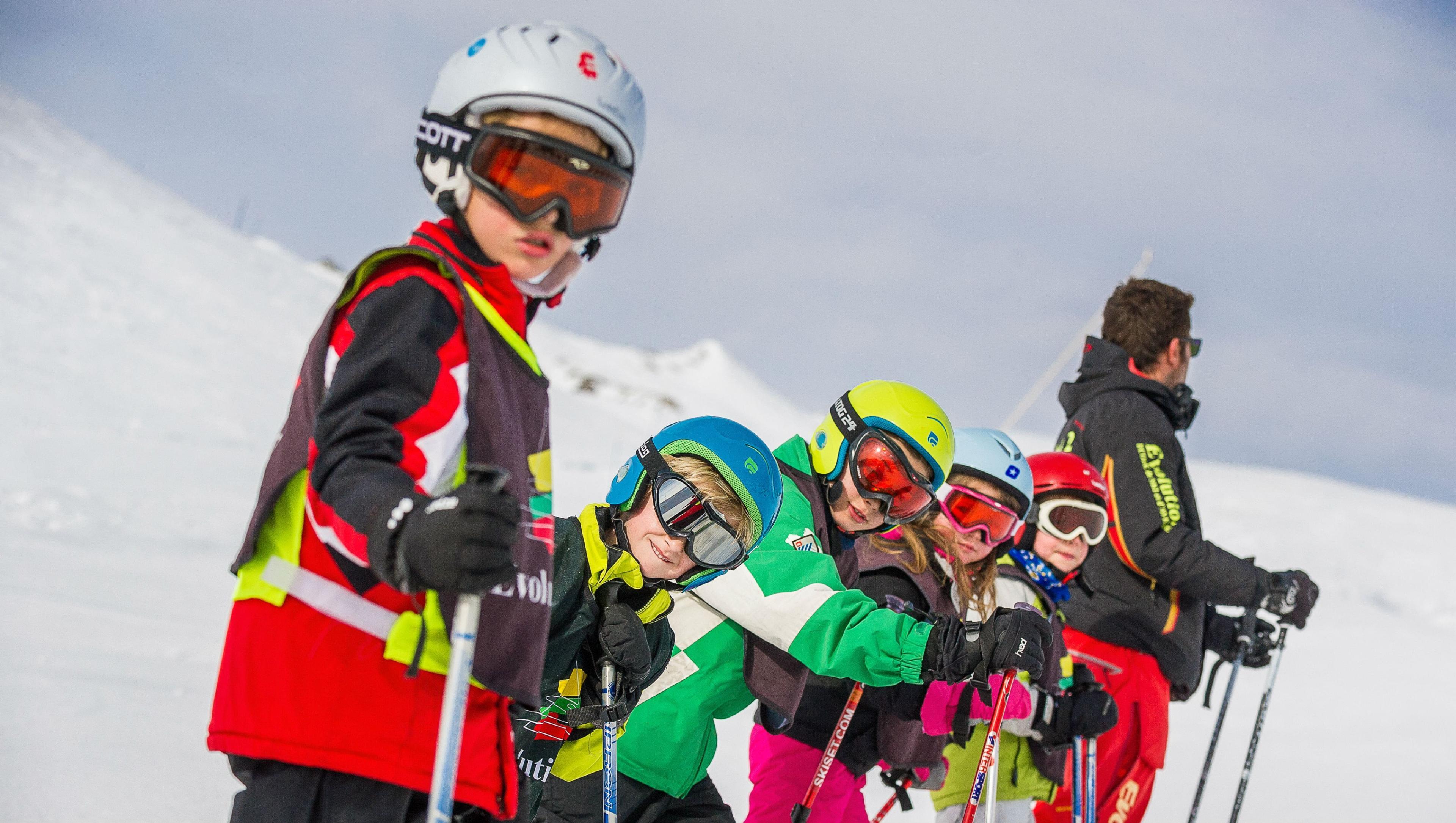Cours de ski pour Enfants (5-12 ans) - Haute saison