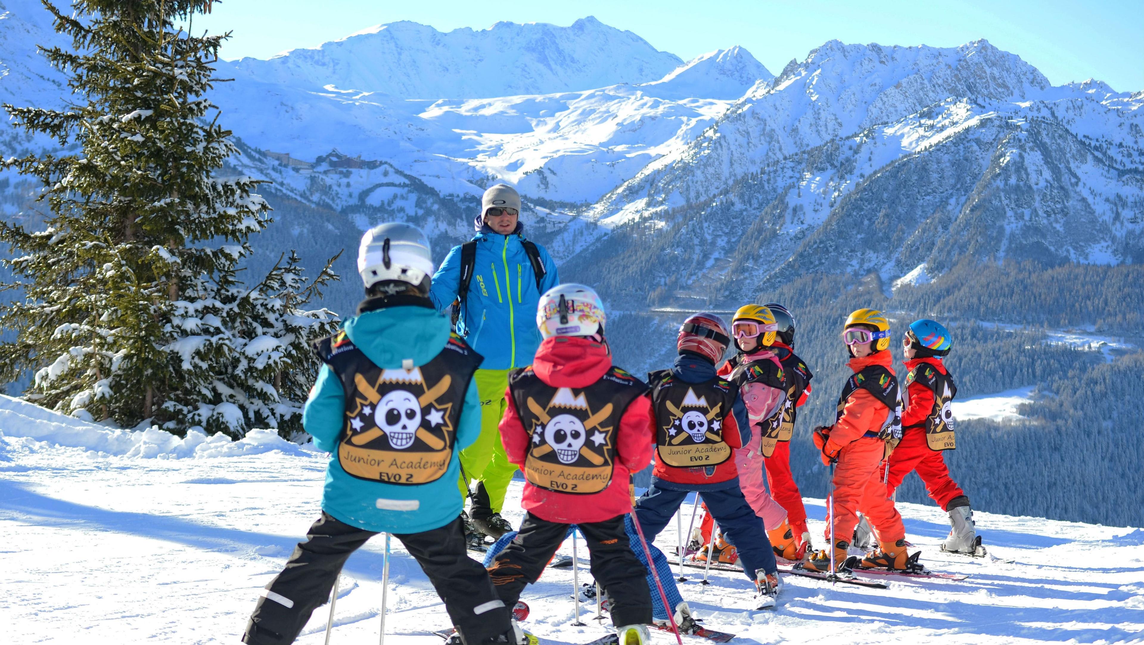Cours de ski pour Enfants (5-12 ans) - Basse saison