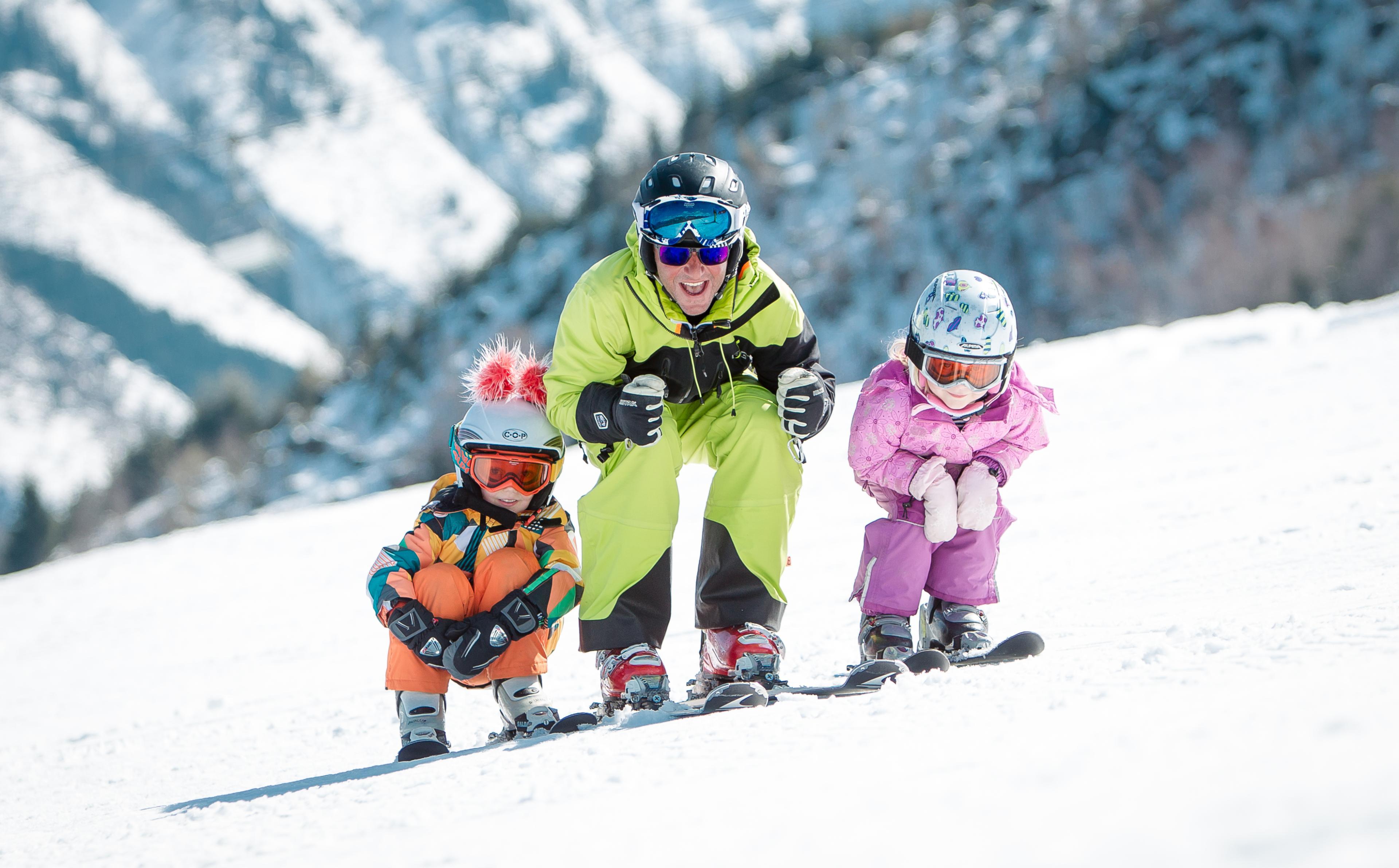 Privélessen skiën voor kinderen - Middag