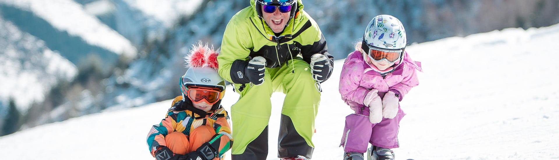 Ski Instructor Private for Kids - Afternoon